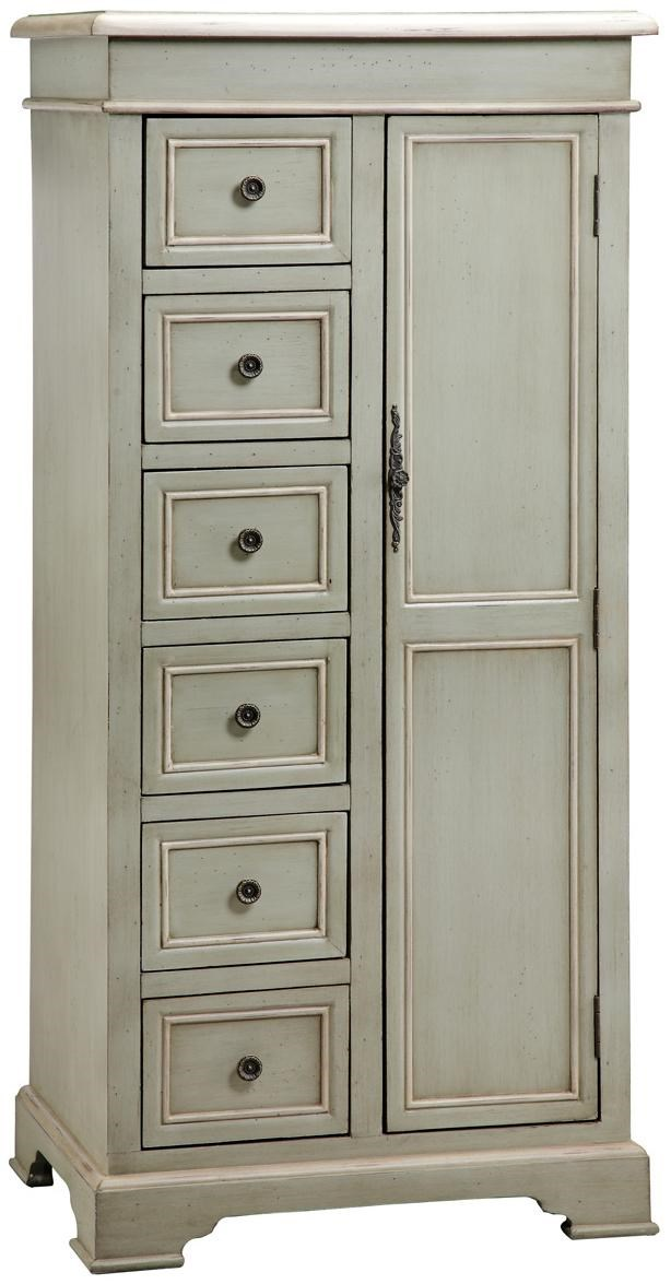 Stein World Cabinets Tall Storage Cabinet W 6 Drawers