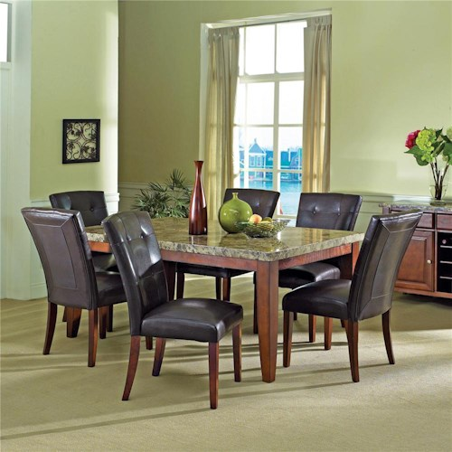 home dining room furniture dining 5 piece set steve silver montibello
