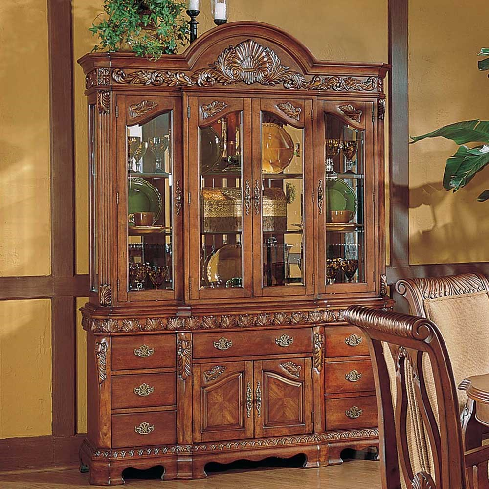 Steve Silver Harmony Traditional Carved Trim China Cabinet  : 750bh ha bjpgscalebothampwidth500ampheight500ampfsharpen25ampdown from www.wilsonhomefurnishings.com size 500 x 500 jpeg 94kB