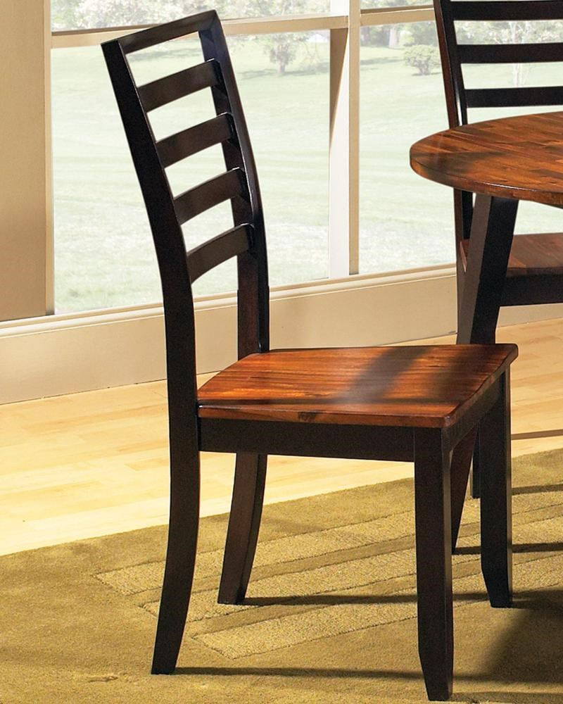 Star Abaco Solid Wood Ladder Back Side Chair EFO