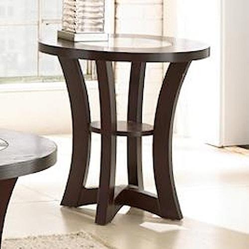 Steve silver alice end table walker 39 s furniture end for Furniture wenatchee
