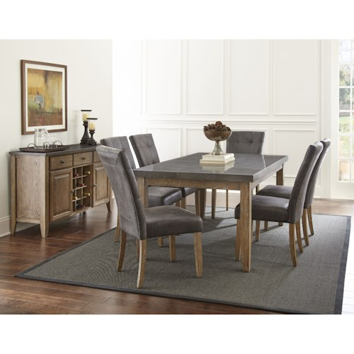 Steve Silver Debby Dining Room Group A1 Furniture Mattress Casual Dining Room Groups