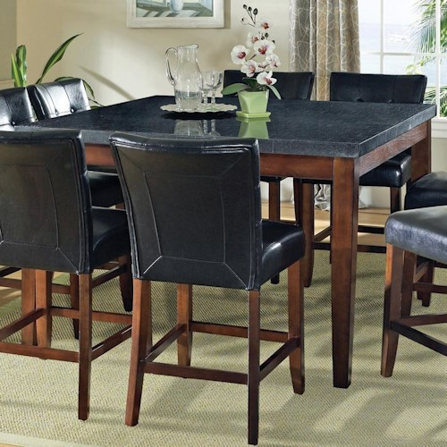 Counter Height Granite Table : ... Table Steve Silver Granite Bello Granite Top Counter Height Leg Table