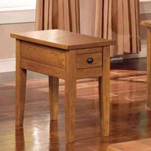 Star Pepper Casual Chairside End Table Efo Furniture Outlet End Table Dunmore Scranton