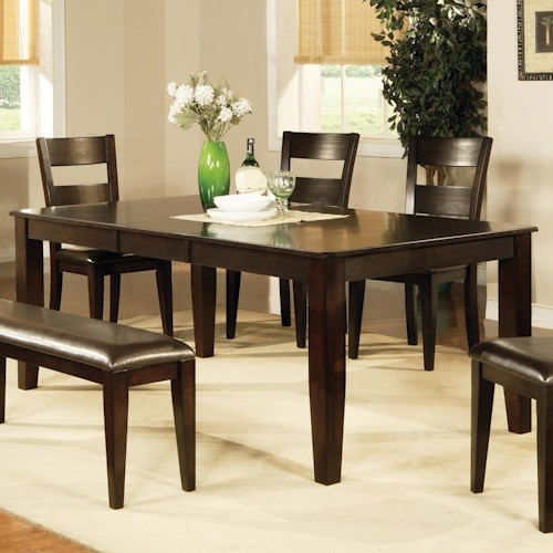 Vendor 3985 victoria victoria dining table with butterfly leaf becker furniture world dining Home furniture victoria street