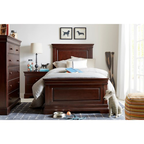 Stone Leigh Furniture Teaberry Lane Twin Bedroom Group Belfort Furniture Bedroom Group