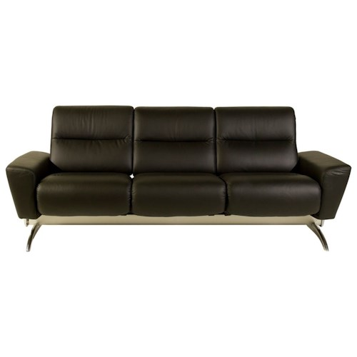 stressless by ekornes stressless you julia 3 seater sofa with balanceadapt dunk bright. Black Bedroom Furniture Sets. Home Design Ideas