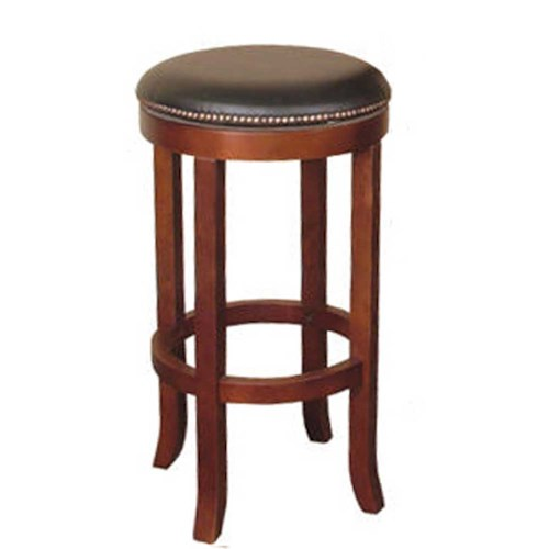 Sunny Designs Cappuccino 30 Swivel Barstool Without Back John V Schultz Furniture Bar Stool