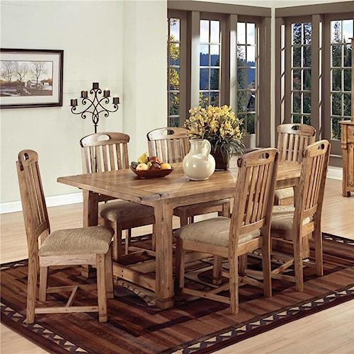 Sunny Designs Sedona 5pc Dining Room Wayside Furniture Dining 5 Piece Set