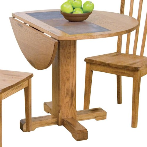 Sunny Designs Sedona Drop Leaf Table W Slate Vandrie Home Furnishings Kitchen Tables