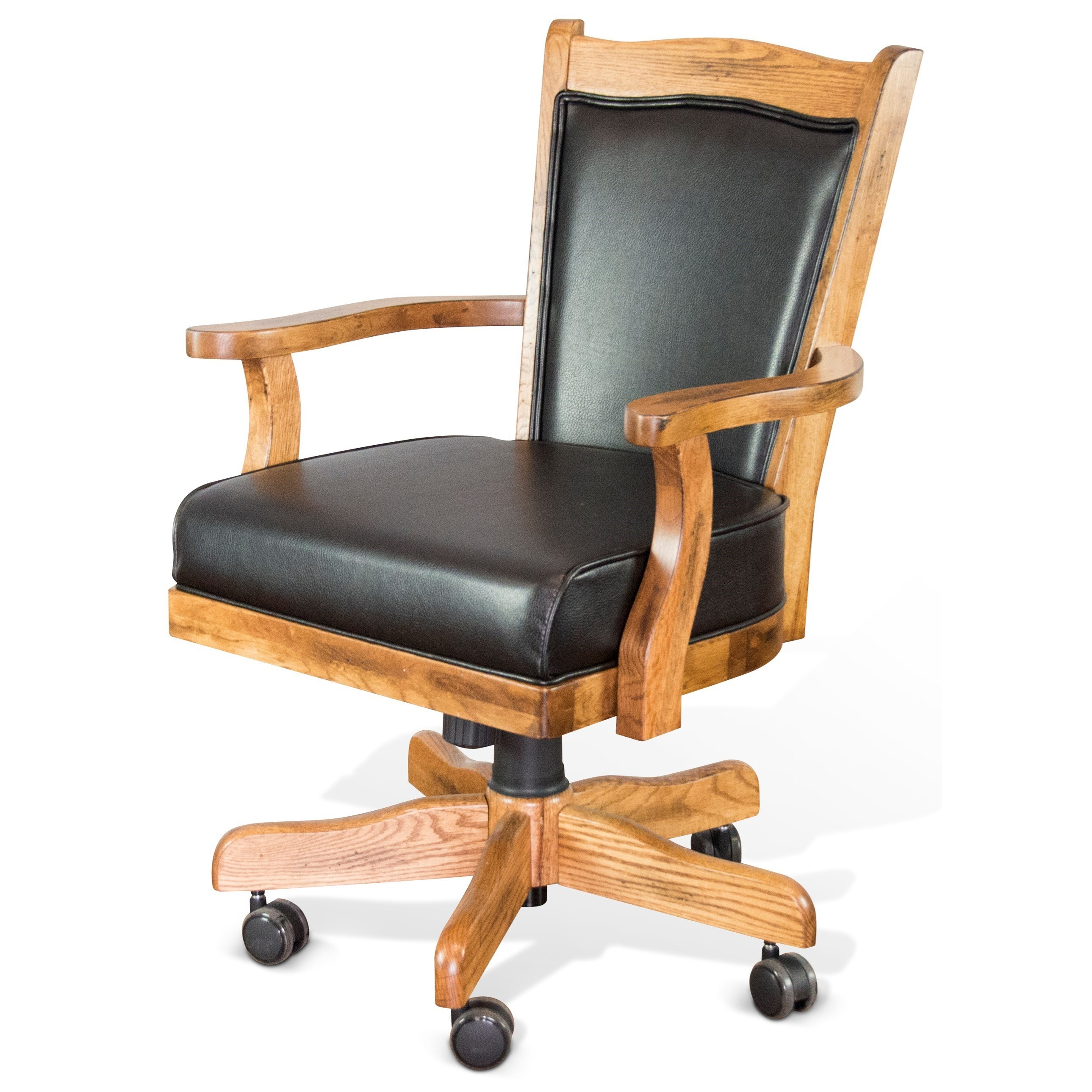 Sunny Designs Sedona Game Chair w/ Casters - Furniture and ApplianceMart - Dining Chairs with ...