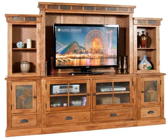Sunny Designs Sedona 6Pc Entertainment Wall Dunk