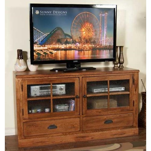 Sunny Designs Sedona 63 Oak Tv Console Furniture And Appliancemart Tv Stands Stevens Point