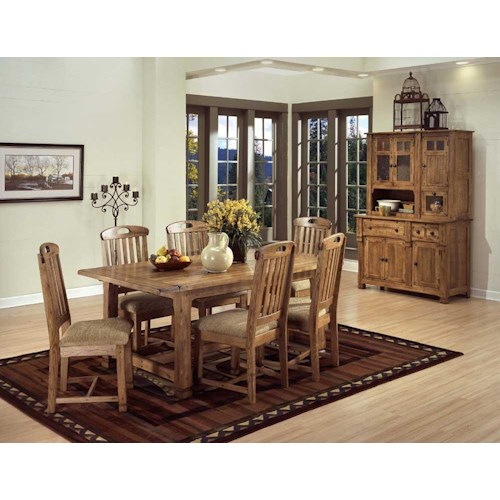 Home Casual Dining Room Groups Sunny Designs Sedona Casual Dining Room