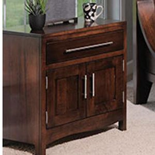 The Urban Collection Coronado Night Stand W 2 Doors Sheely 39 S Furniture Appliance Night Stand