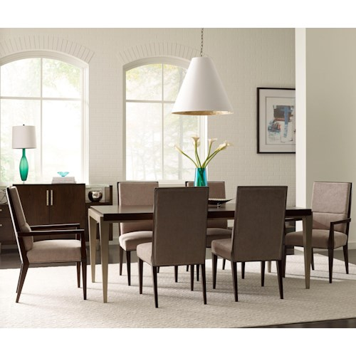 Thomasville Ave A 7 Pc Dining Set Baer 39 S Furniture Dining 7 Or More