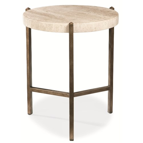 Thomasville Furniture End Table Metal Trend Home Design