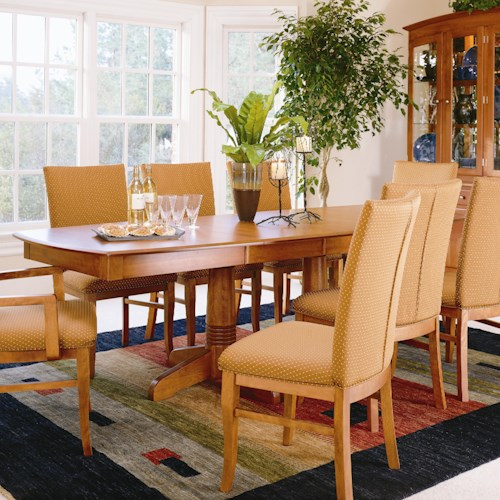Home Dining Room Furniture Dining Room Table Thomasville Color Caf