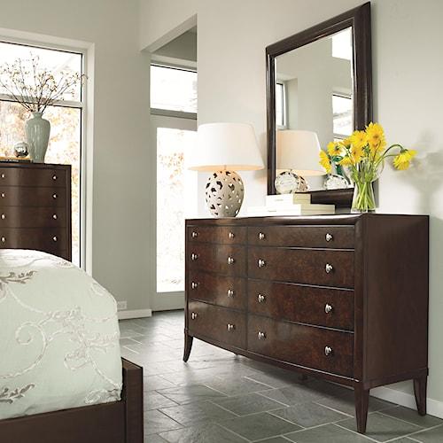 Thomasville Spellbound Drawer Dresser W Mirror Darvin Furniture Dresser