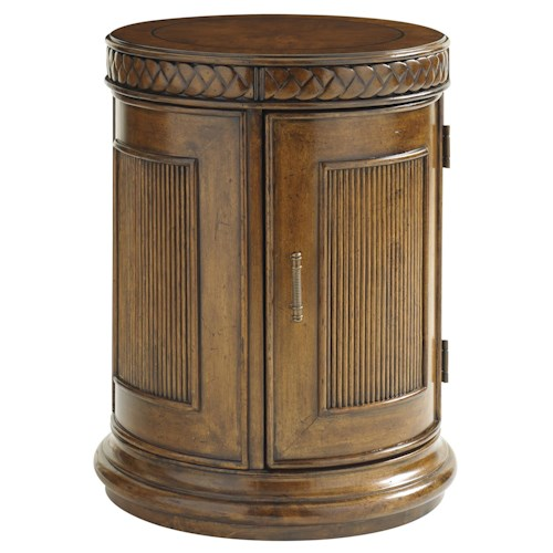 Tommy Bahama Home Bali Hai 593 950 Belize Round End Table
