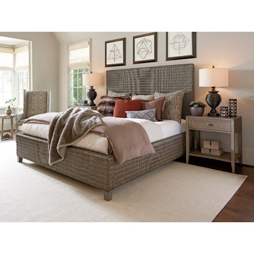 Tommy Bahama Home Cypress Point Queen Bedroom Group Belfort Furniture Groups