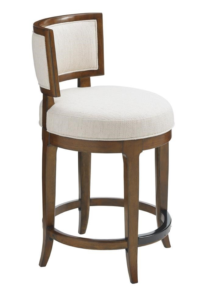 Tommy Bahama Home Island Fusion 556-815-02 Macau Swivel Counter Stool : Baeru0026#39;s Furniture : Bar ...