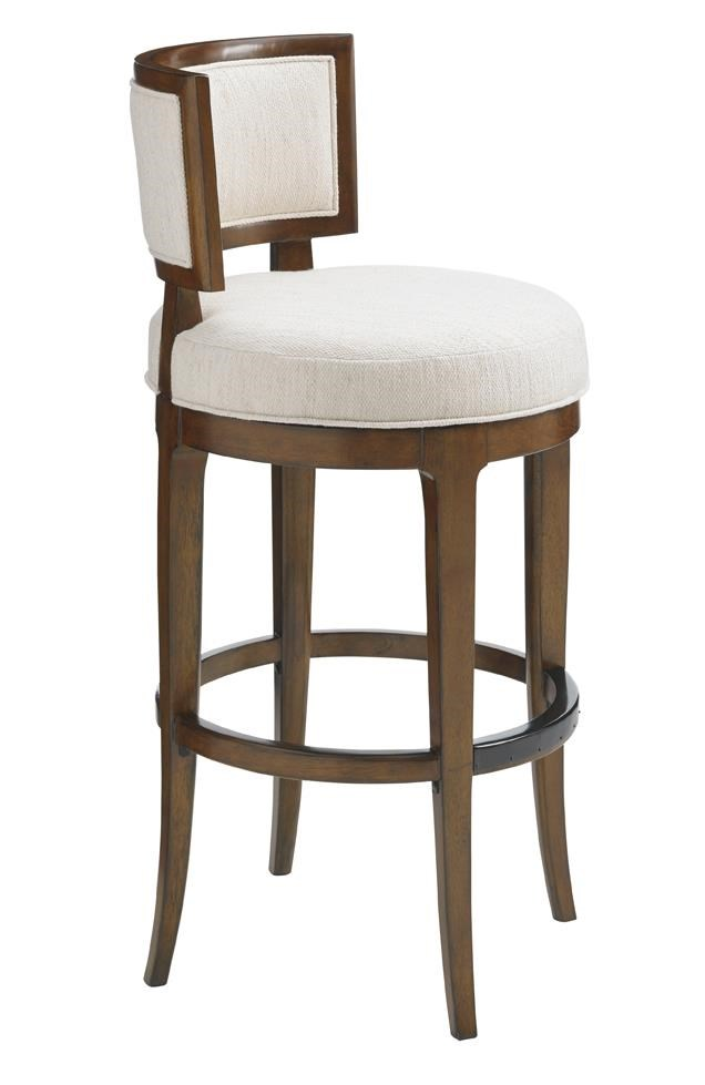 Tommy Bahama Home Island Fusion 556-816-02 Macau Swivel Bar Stool : Baeru0026#39;s Furniture : Bar ...