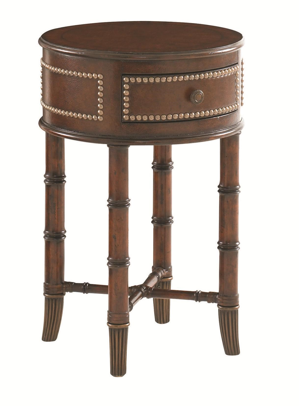 Tommy Bahama Home Landara 545-953 Bandera Leather Accent Table : Baeru0026#39;s Furniture : End Table ...