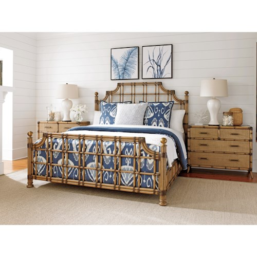 Tommy Bahama Home Twin Palms King Bedroom Group Wayside Furniture Bedroom Groups