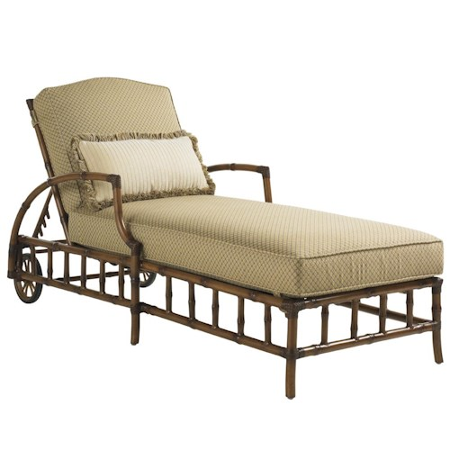 Tommy Bahama Outdoor Living Island Estate Veranda Outdoor Chaise Lounge With