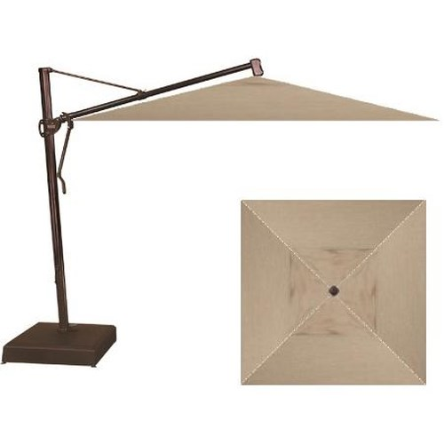 Treasure Garden Cantilever Umbrellas 10 Square Cantilever Umbrella W Base Wilson 39 S Furniture