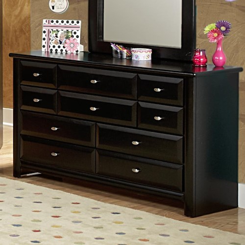 trendwood laguna dresser with 9 drawers wayside