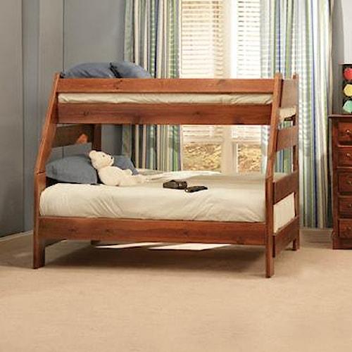 Trendwood Sedona Twin High Sierra Bunk Bed Sheely S