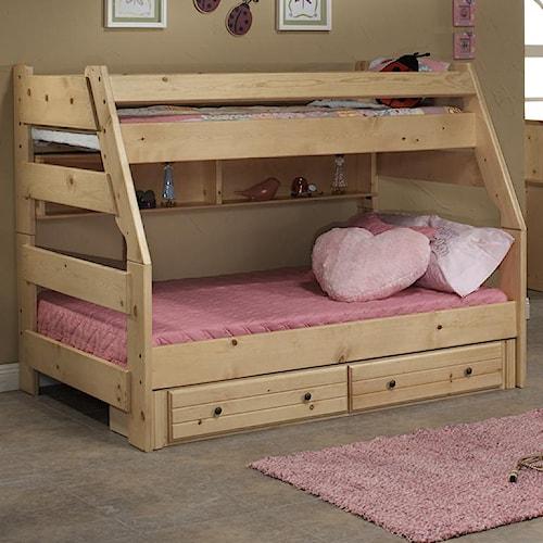Trendwood Sedona Twin High Sierra Bunk Bed Conlin S