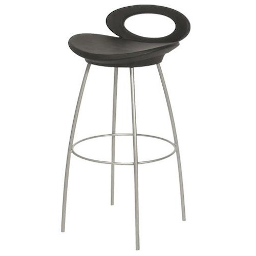 Trica Contemporary Bar Stools Solo Stationary Bar Stool Jordan 39 S Home Furnishings Bar Stool