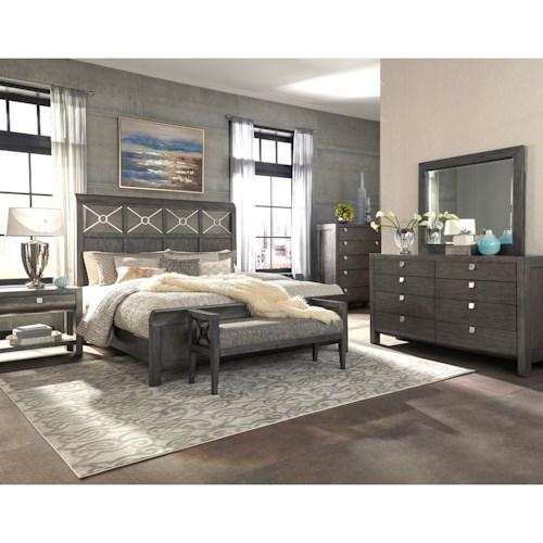 Trisha Yearwood Home Collection By Klaussner Music City King Bedroom Group Hudson 39 S Furniture