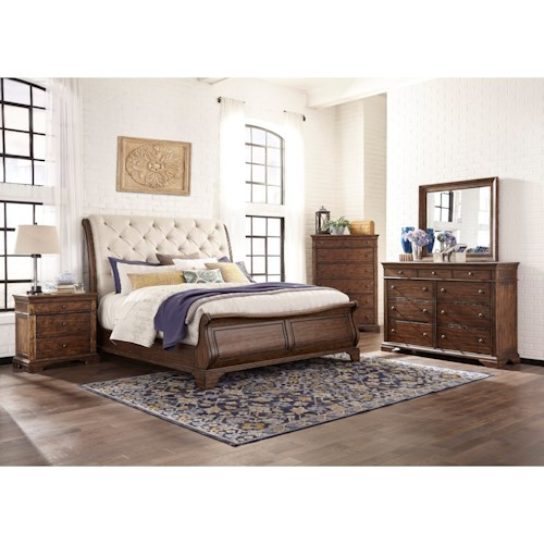 Trisha Yearwood Home Trisha Yearwood Home Queen Bedroom Group Belfort Furniture Bedroom Groups