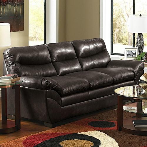 United Furniture Industries 1720 Sofa: United Furniture Industries 9515 Casual Contemporary Three