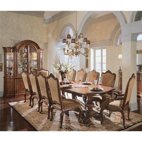Universal Dining Room Furniture: Universal Villa Cortina 9Pc Dining Room