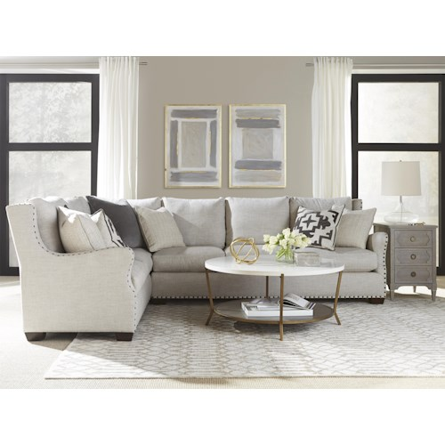 Universal Connor Sectional Sofa Hudson 39 S Furniture Sofa Sectional Tampa St Petersburg