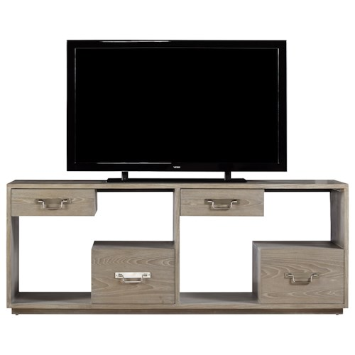 Universal Curated Danbury Console With Floating Drawer