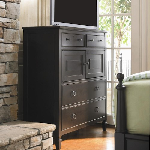 Universal Summer Hill Dressing Chest Of Drawers Belfort Furniture Door Chests