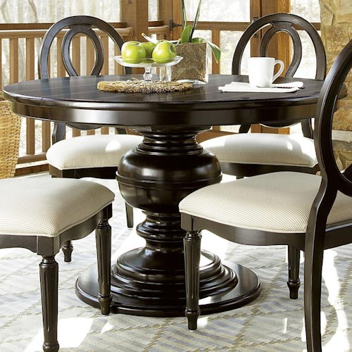 Universal Summer Hill Round Pedestal Table Hudson 39 S Furniture Dining