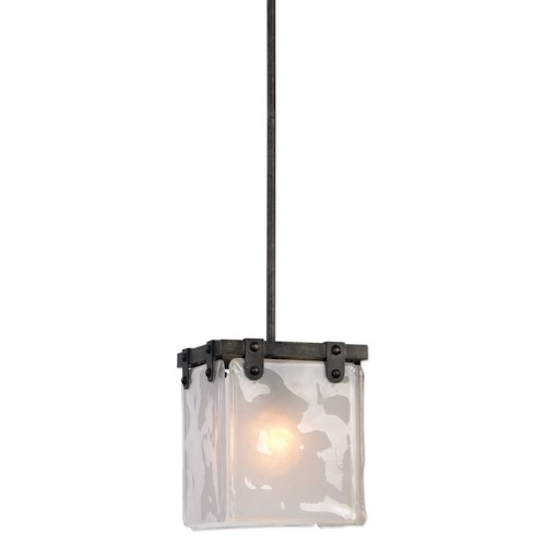 uttermost lighting fixtures brattleboro industrial 1 light mini