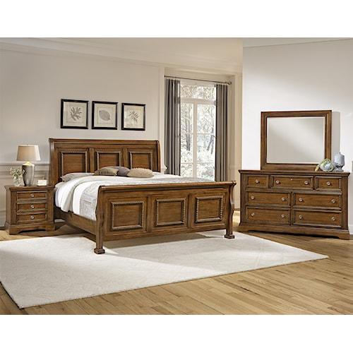 home bedroom groups vaughan bassett affinity king bedroom group