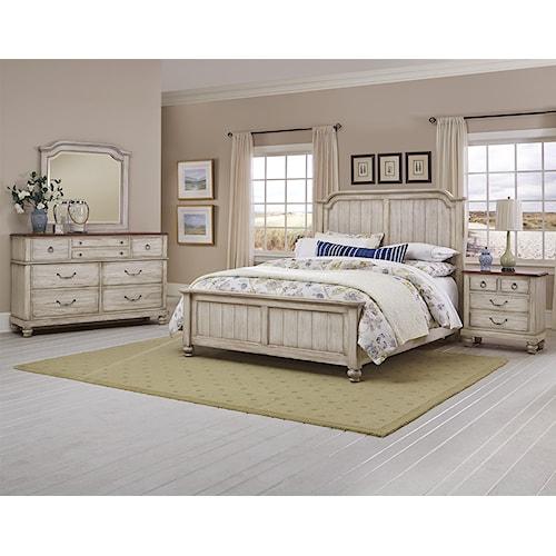 Vaughan Bassett Arrendelle King Bedroom Group
