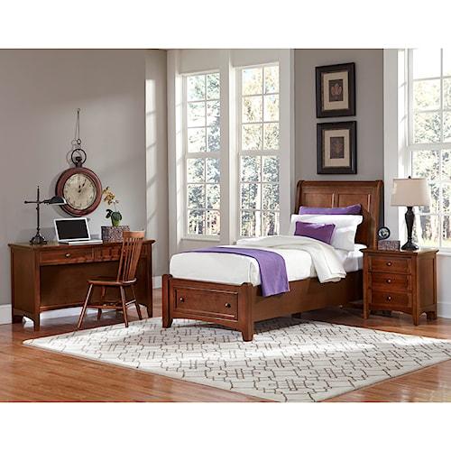 home bedroom groups vaughan bassett bonanza twin bedroom group