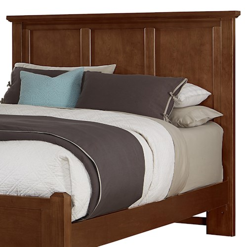 Vaughan bassett bonanza king california king mansion for Bedroom furniture indianapolis