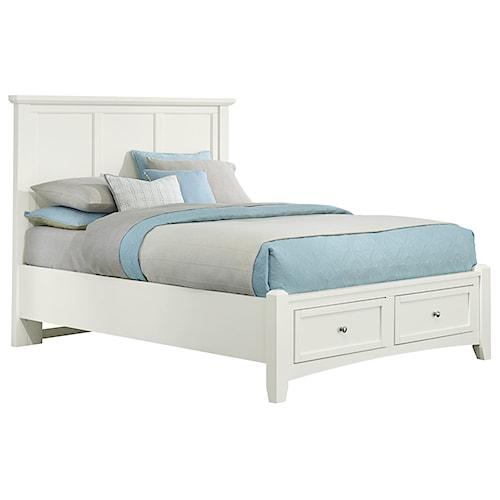 Vaughan Bassett Bonanza Full Mansion Storage Bed With 2