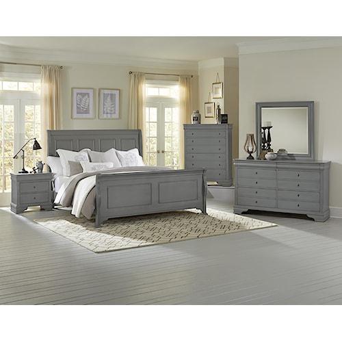 Vaughan Bassett French Market Full Bedroom Group Wayside Furniture Bedroom Group